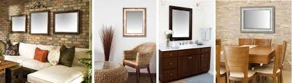 custom mirrors framed wall mirror for bathroom u0026 bedroom