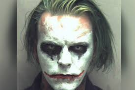 man busted for dressing like the joker swears he u0027s not a lunatic