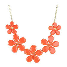 bib necklace flower images Cheap coral statement necklace find coral statement necklace jpg