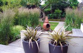 small family garden ideas lawn u0026 garden spacious small gardens design with round dark grey