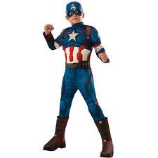 buy avengers 2 age of ultron deluxe kids captain america costume
