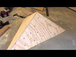 build an easy volume for a home climbing wall how much fun would