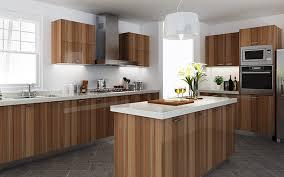 kitchen cabinet design kenya kenya high glossy wood grain melamine kitchen cabinet