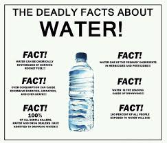 Drinking Water Meme - the deadly facts about water introspective world