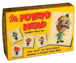 Potato Head Kit Toy Story Blippee Potato Head Hasbro Funny Face Man George Lerner