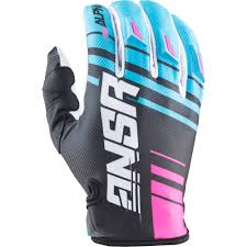 vintage motocross gloves answer 2017 mx gear new alpha cyan blue pink black dirt bike