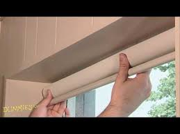 Replacement Brackets For Roller Blinds How To Install A Window Shade For Dummies Youtube