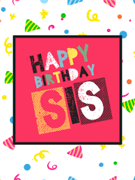 birthday cards for sister birthday u0026 greeting cards by davia