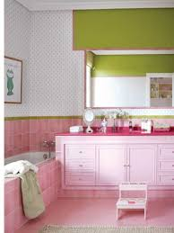 pink tile bathroom decorating ideas more pink tile with white and