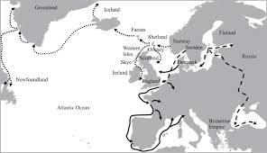 Map Of Norway Ancient Dna Of Norwegian Vikings Philosophical Transactions Of