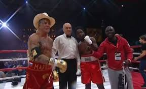 Mickey Rourke News Newslocker - mickey rourke won his staged boxing match the blemish mickey