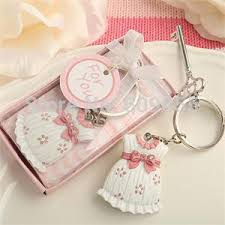 baptism keychain favors 180pcs lot baby shower favors and gift baby girl dress design