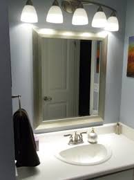 Bathroom Mirror Lighting Fixtures Bathroom Mirror Light Fixtures - Bathroom mirrors and lighting