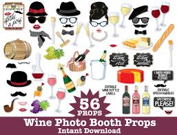 photo booth props for sale wine photo booth props wine tasting props new year s