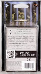arkham horror the card the miskatonic museum køb det