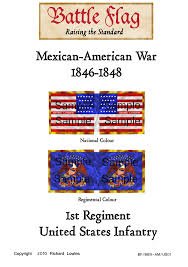 wargame flags of the mexican american war available now from