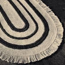 Crochet Oval Rag Rug Pattern Crochet Rug Patterns Oval Crochet Rug Pattern With Fringe Wish