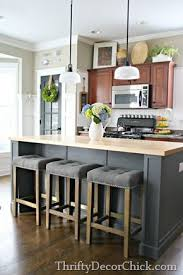 Kitchen Islands And Stools Rustic Kitchen Island West Elm With Regard To Table Bar Stools