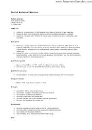 dental assistant resume templates dental assistant resume exles no experience exles of resumes