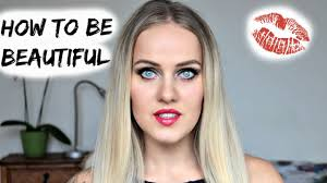 diy how to look pretty when you are ugly make up and hair tutorial