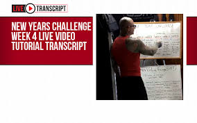 Challenge Tutorial 2018 New Year S Challenge Week 4 Live Tutorial Transcript