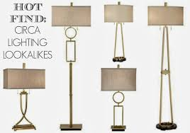 rosa design circa lighting look alike lamp bargains