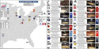 depaul map ncaa basketball the big east conference conference map with
