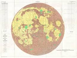 United States Wall Map by File 1961 U S G S Photogeologic Map Of The Moon Wall Map