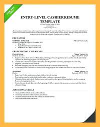 cashier resume template cashier resume exle