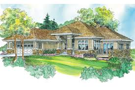 Prairie Home Plans by Prairie Style House Plans Meadowbrook 30 659 Associated Designs
