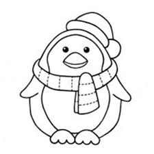 stylish and also gorgeous cute penguin coloring pages intended for
