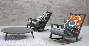 Gray Rocking Chair Comforting Motion The Gray 09 Rocking Chair By Gervasoni Best