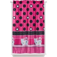 Purple Polka Dot Curtain Panels by Sanrio Hello Kitty