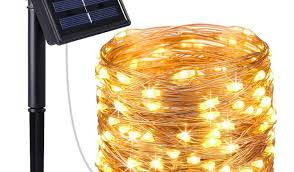 starry string lights amir of the solar energy lines of light 100 led copper wire