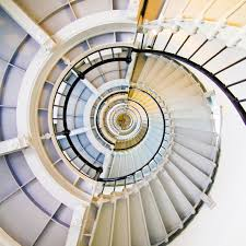 black and white spiral staircase free image peakpx