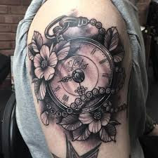 collection of 25 pocket watch tattoo