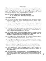 Ecumenical Councils Of The Catholic Church Definition Course Syllabus Catholic Church Second Vatican Council