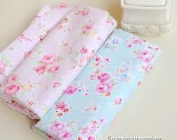 Shabby Chic Upholstery Fabric Pink Peony Floral Cotton Fabric Pink Peony Floral Fabric Sewing