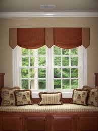 Fabric Covered Wood Valance Home