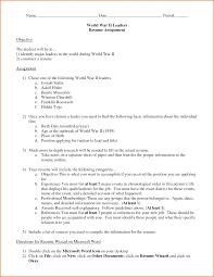 formatting resume proper resume resume templates