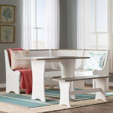 Bench Kitchen  Dining Room Sets Youll Love Wayfair - Dining room table bench seating
