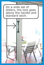 installing the best sliding door locks available today in the
