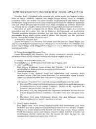 contoh teks prosedur membuat jus mangga procedure text how to make