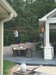 hanging outdoor string lights tips for hanging outdoor string lights