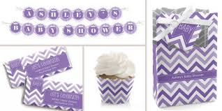purple decorations chevron purple baby shower theme bigdotofhappiness