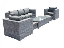 3 Seater 2 Seater Sofa Set Ascot 3 Seater Sofa Set In Grey Rattan Sofa Sets Rattan Direct