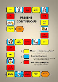 49 best present progressive images on pinterest teaching english