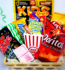 Gift Baskets For Kids Kids Fun Entertainment Candy Gift Basket