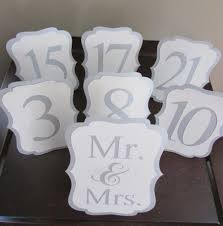 silver wedding table numbers elegant wedding table number silver shimmer and white table numbers