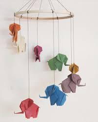 origami chambre bébé decoration éléphants origami chambre bebe originale 16 idées d